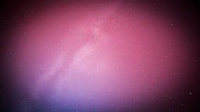 Perseids meteor i milky sposób Fotografia Stock