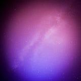 Perseids meteor i milky sposób Obrazy Royalty Free