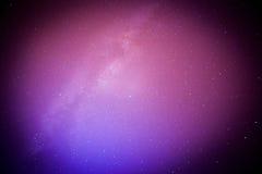 Perseids meteor i milky sposób Obraz Stock