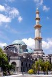 persekutuan wilayah för masjid Fotografering för Bildbyråer