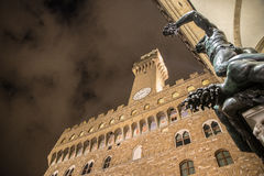 Perseo στη Φλωρεντία Στοκ Εικόνες