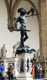 Perseo di benvenuto cellini,florence Royalty Free Stock Images