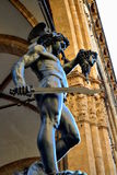 Perseo e Meudsa. Bronze of Perseus and Medusa, by Benvenuto Cellini, dating back to the 1500`s, is one of the greatest work of Mannerism. Is located in Florence Royalty Free Stock Photo