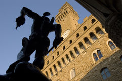 Perseo and Medusa, Benvenuto Cellini, Florence Stock Photos
