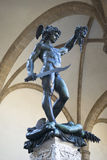 Perseo statue by Cellini, Florence Stock Image