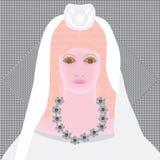 Persephone zmrok royalty ilustracja
