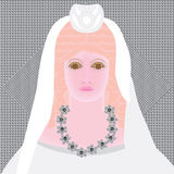Persephonedark royalty-vrije illustratie
