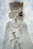 Persepolis浅浮雕 库存照片