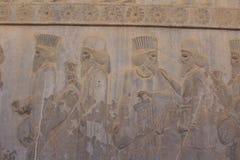 Persepolis, Иран: Руины церемониальной столицы империи Achaemenid стоковые фотографии rf