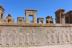 Persepolis, Иран: Руины церемониальной столицы империи Achaemenid стоковое изображение rf