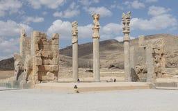 Persepolis κοντά στη Shiraz, Ιράν, Ασία Στοκ φωτογραφία με δικαίωμα ελεύθερης χρήσης