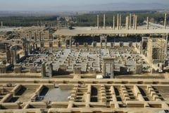 Persepolis 100 Pałac Collumns Obraz Royalty Free