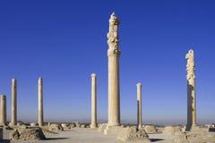Persepolis - Apadana palace Stock Images