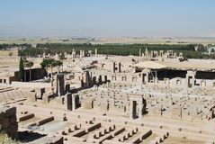 Persepolis. (Persian: Takht-e Jamshīd) is perhaps the best-known archaeological monument of Persia (Iran) and a most significant national symbol for all Royalty Free Stock Images