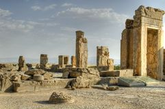 Persepolis. One of the oldest places of civilization of mankind Stock Image