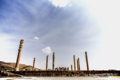 Persepolis, ancient city of Persia. Ancient city of Persepolis in Iran Stock Photos