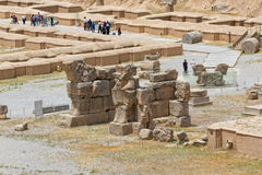 Persepolis ancient ruins Royalty Free Stock Photography