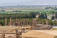 Persepolis ancient ruins Stock Photos