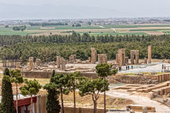 Persepolis ancient ruins Royalty Free Stock Photos