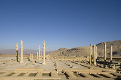 Persepolis - Apadana palace Royalty Free Stock Photo
