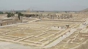 Persepolis arruina panorama
