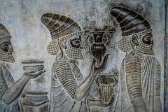Persepolis Bas Relief Royalty Free Stock Photos