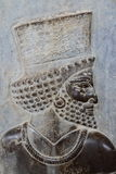 Persepolis bas-relief in stone Stock Image