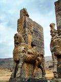 Persepolis, brama Wszystkie narody obraz stock