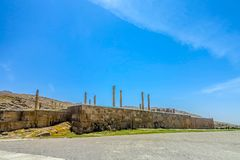 Persepolis Dziejowy miejsce 02 obrazy stock