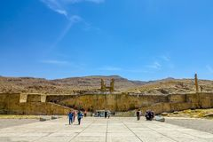 Persepolis Dziejowy miejsce 01 zdjęcia royalty free