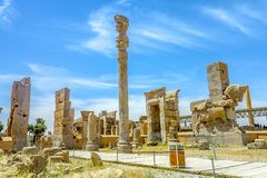 Persepolis Dziejowy miejsce 06 zdjęcia royalty free