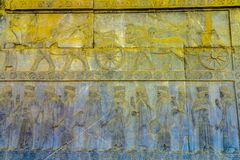 Persepolis Dziejowy miejsce 13 fotografia stock
