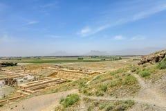 Persepolis Dziejowy miejsce 28 obrazy stock