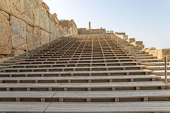 Persepolis entrance stairs Royalty Free Stock Images