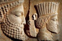 Persepolis est la capitale du royaume antique d'Achaemenid vue de l'Iran Perse antique image libre de droits