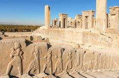 Persepolis-forntida huvudstad av perser Royaltyfria Bilder