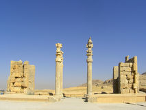 Persepolis: Gate of all nations from side Stock Photo