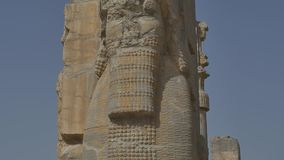 Persepolis gate of nations stock video footage