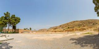 Persepolis hundra kolonn Hall Arkivfoto