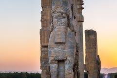 Persepolis i Iran Royaltyfria Bilder