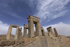 Persepolis, Koninklijk paleis van de Achaemenid-Imperiumkoningen Royalty-vrije Stock Foto's