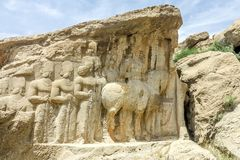 Persepolis Naqsh-e Rajab 02 imagem de stock royalty free