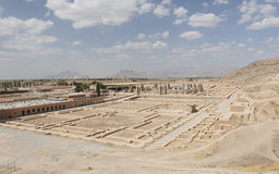Persepolis nästan Shiraz, Iran, Asien Arkivfoto
