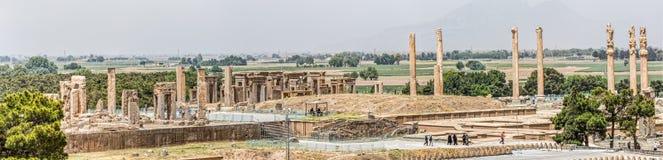 Persepolis panoramic Stock Images