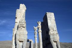 Persepolis, Persia. Ruins of Persepolis, Persia (Iran Stock Photo