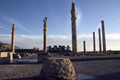 Persepolis, Perzië Stock Afbeelding