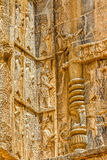 Persepolis royal tombs relief Stock Photo