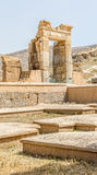 Persepolis. Ruins of old city Persepolis, a capital of the Achaemenid Empire 550 - 330 BC Royalty Free Stock Image
