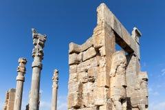 Persepolis am sonnigen Tag Stockfoto