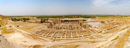 Persepolis-Stadtpanorama Stockbilder